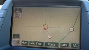 GPS shows we are parked on 4 states