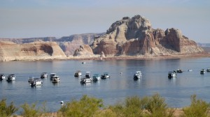 House Boats on Lake Powell