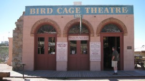 Bird Cage Theater in Tombstone -- original structure