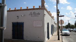 La Posta - now a Mexican restaurant - was the Butterfield Stage Coach building