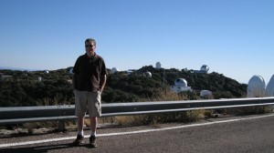 Carl at Kitt Peak National Observatory, finally!
