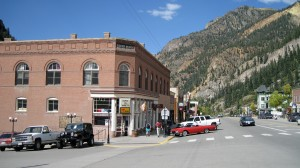 Town of Ouray -- They have Hot Springs here.
