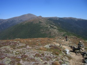 Ginny Shea in the White Mountains, September 2008  -- does this look like a 70-year-old woman?
