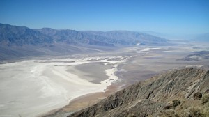 From Dante's Peak, looking up Death Valley