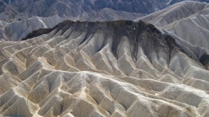 Petrified Sand Dunes -- view from Zabriskie Point