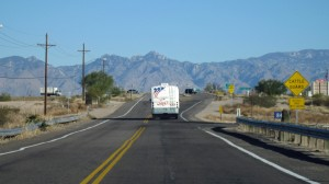Leaving Tucson -- take from the Prius.